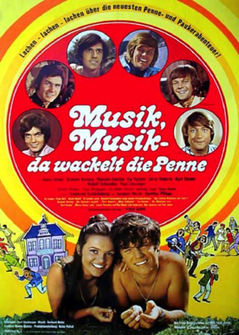 Komödie - Musik, Musik da wackelt die Penne