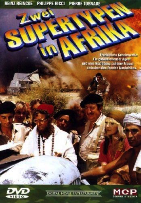 Kriegsfilm - Zwei Supertypen in Afrika