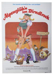 Erotik - Alpenglühen im Dirndlrock