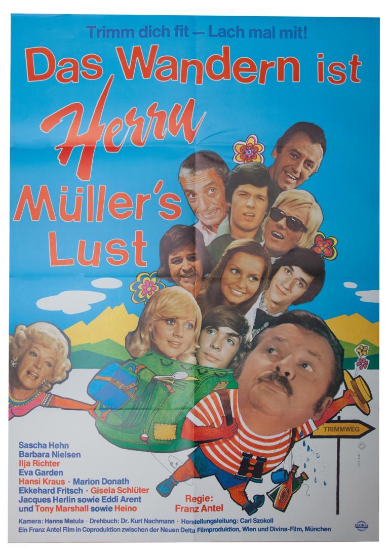 Komödie - Das Wandern ist Herrn Müllers Lust