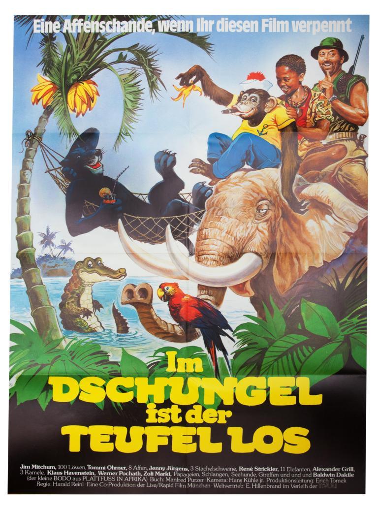 Komödie - Im Dschungel ist der Teufel los
