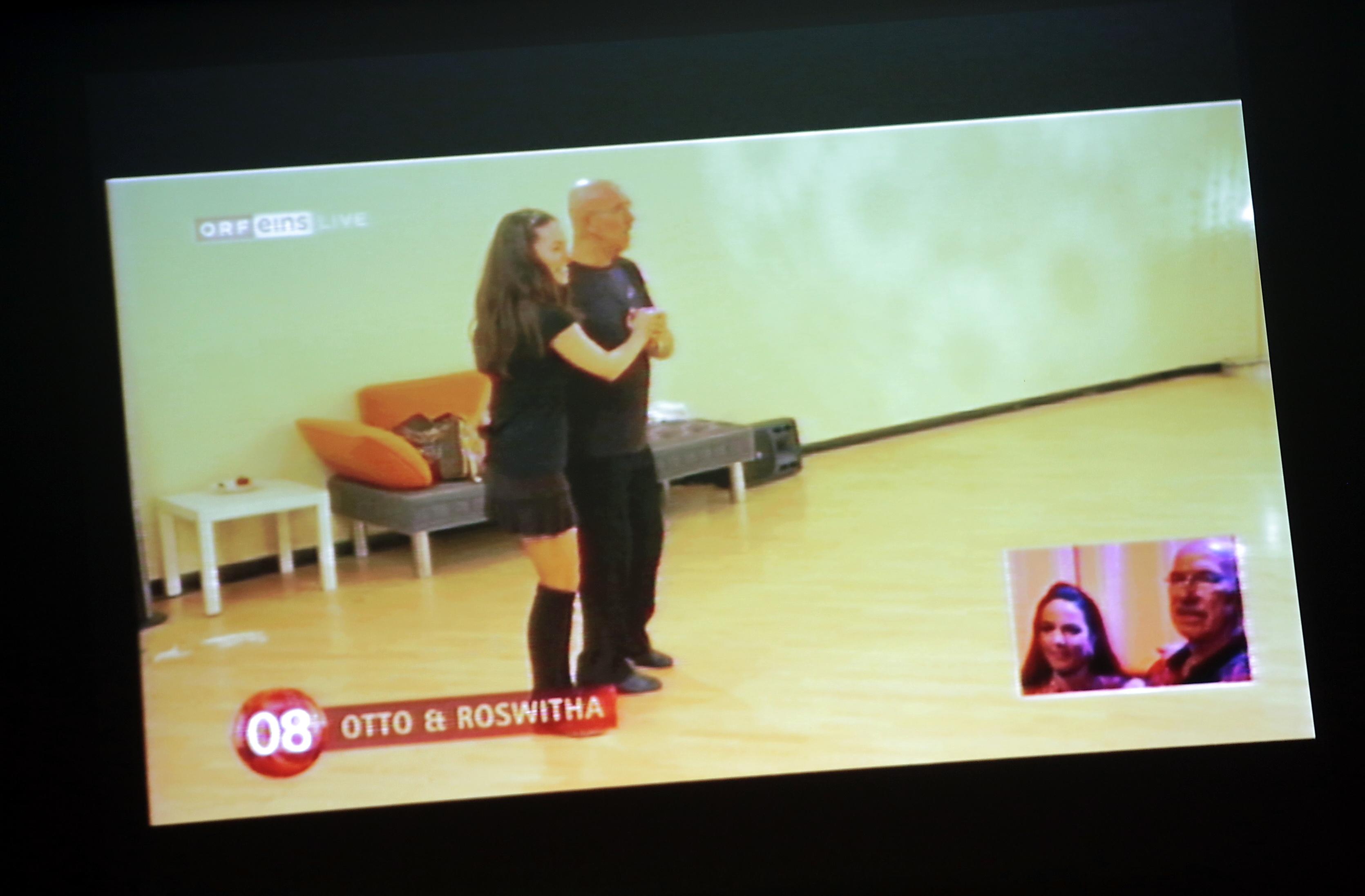 Otto Retzer - Dancing Star - Public Viewing
